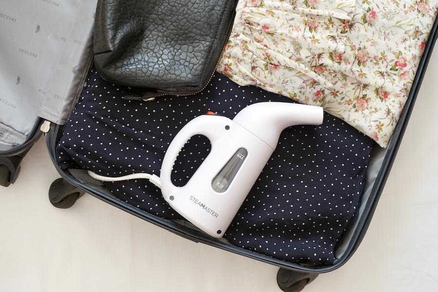 podróżny prasowacz w twojej walizce