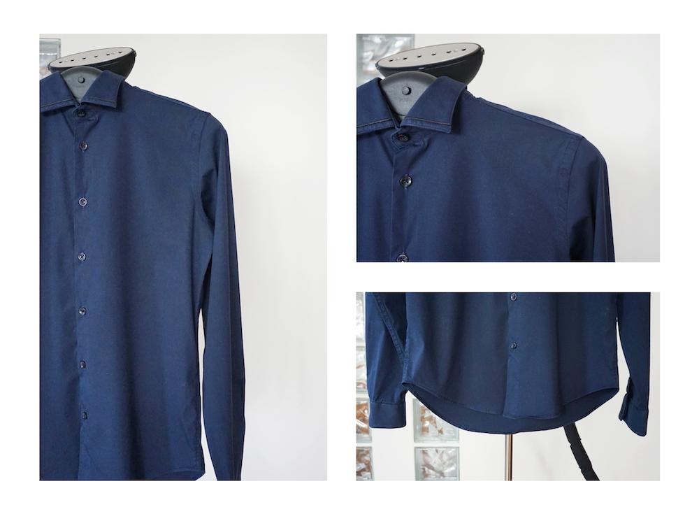 Prasowanie męskiej koszuli SteaMaster  fGv0p
